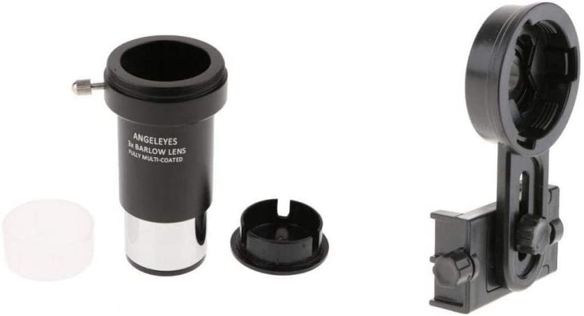Shiwaki Barlow Lens Eyepiece 3X para Celestron + Smart Phone ...