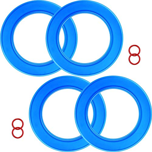 - 4 Packs 7301111-0070A Flush Valve Seal Kit for American Standard Toilets, Replacement Parts for Champion 4 Tank and Eljer Titan 4 Model toilets, Replace for 012611410444