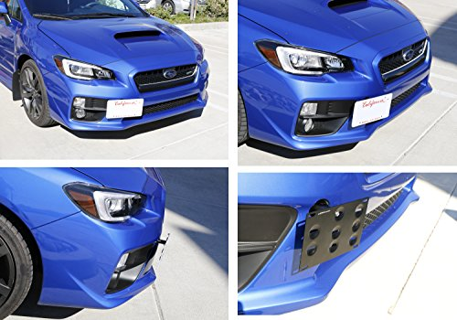 iJDMTOY JDM Style Front Bumper Tow Hole Adapter License ...