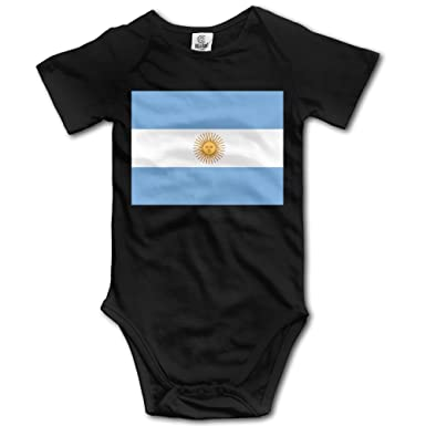 Amazon Com One Suit Flag Of Argentina Funny Baby Onesies Infant