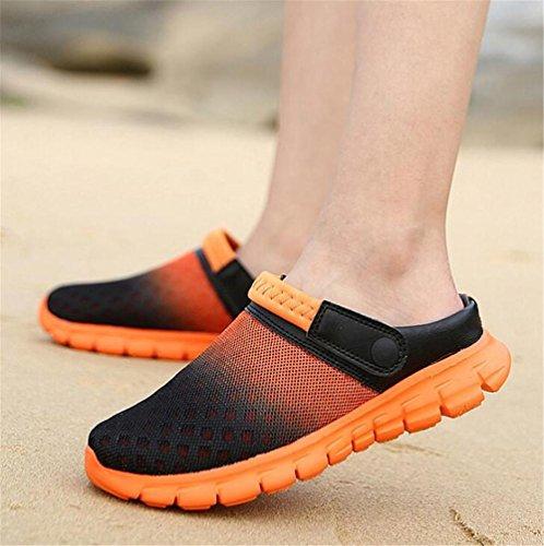 Donna Infradito 45 Pantofole Casual Toe Closed Sandali Beach Taglia Scarpe Uomo Antiscivolo NSLXIE Summer Mesh EU42 36 dwA4zdqn