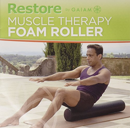 restore-by-gaiam-muscle-therapy-foam-roller-dvd