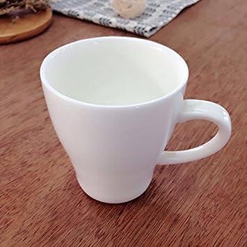 WJIANLL Tazas de cerámica creativa desayuno taza de café taza de leche taza taza de leche condensada,8.9*8cm.: Amazon.es: Hogar