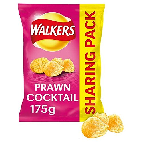 (Walkers Prawn Cocktail Crisps - 175g (0.39lbs))