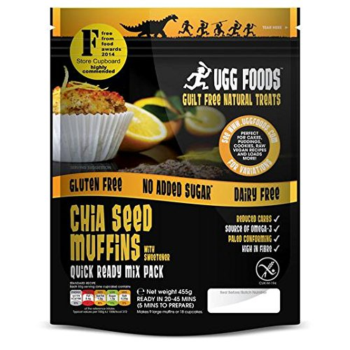 455 g de semillas de Chia Ugg Muffin Mix: Amazon.es: Alimentación ...