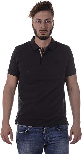 Burberry 3975690 39756901 Camisa polo Gris Dark Grey Melange ...