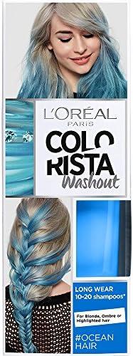 LOreal Paris Colorista Coloración Temporal Tono Washout Ocean Hair - 116 gr