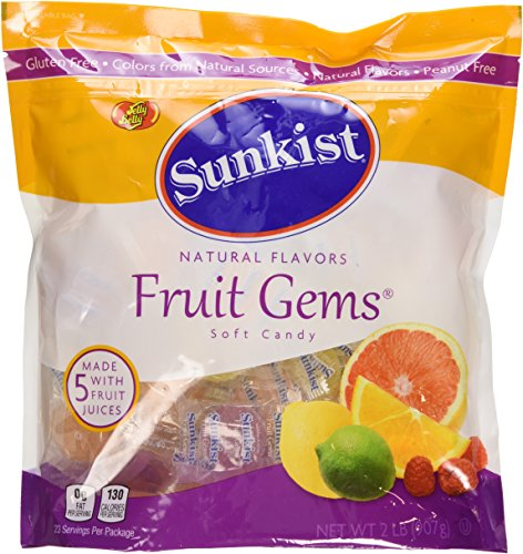 Sunkist Individually-Wrapped Fruit Gems 32OZ (2 LB) Pouch (Basic)