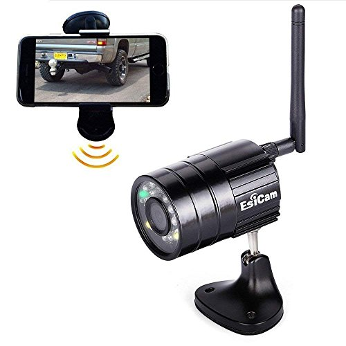 EsiCam Battery Backup Camera Wireless for Smart Phone Versat
