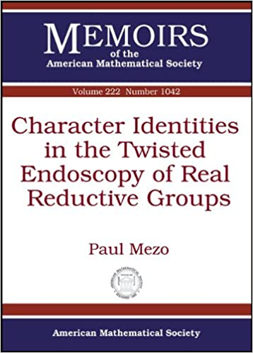Character Identities in the Twisted Endoscopy of Real Reductive Groups (Memoirs of the American Mathematical Society)