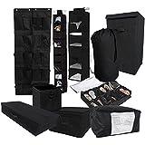 10PC Complete Organization Set - TUSK Storage - Black