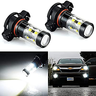 Jdm Astar Extremely Bright Max 50w High Power 2504 Psx24w Led Fog Light Bulbs For Drl Or Fog Lights Xenon White Buy Online At Best Price In Uae Amazon Ae