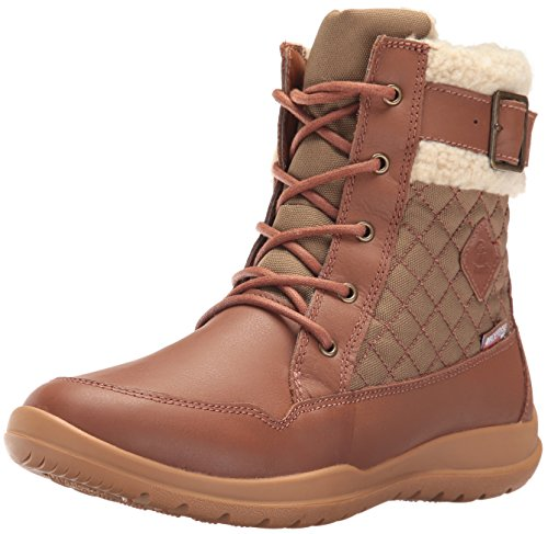Kamik Women's Barton Snow Boot, Tan, 10 M US by Kamik