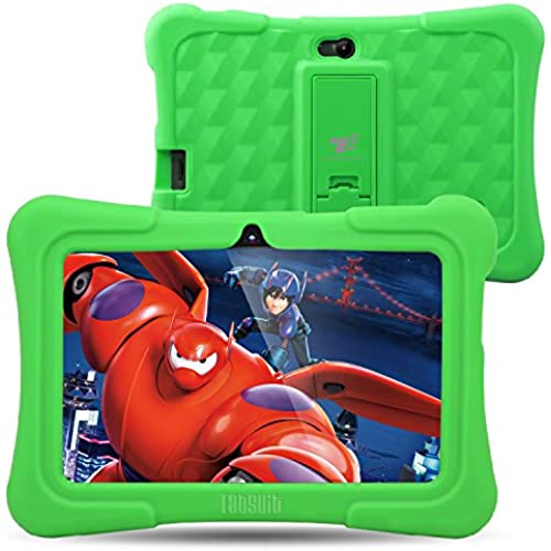 Dragon Touch Y88X Plus 7 inch Kids Tablet 2017 Disney Edition, Android 5.1 Lollipop, IPS Display, Kidoz Pre-Installed w/ Bonus Disney Content Coupons