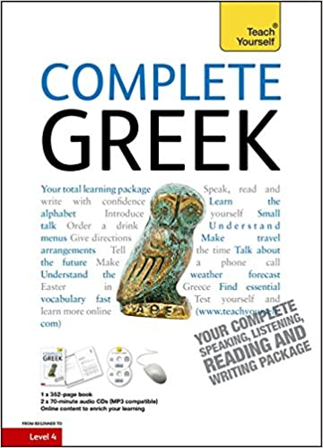 Book Complete Greek: Teach Yourself (Book/CD Pack)