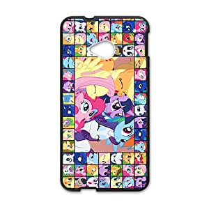 DASHUJUA Cartoon Pony Design Pesonalized Creative Phone Case For HTC M7