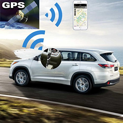 Tiean Micro USB Charger Cable GPS Locator Voice Listening GSM GPRS Real Time Tracking (Black)