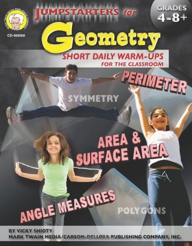 By Vicky Shiotsu Jumpstarters for Geometry, Grades 4 - 8 [Paperback] ebook