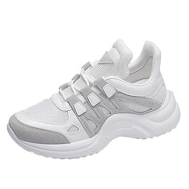 Schuhe Damen Laufschuhe Mode Turnschuhe Mesh atmungsaktive