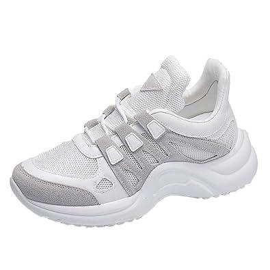ALIKEEY Damen Laufschuhe Atmungsaktive Mesh Schuhe