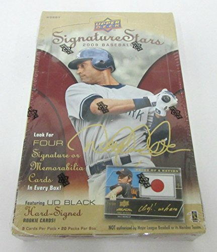 2009 Upper Deck Signature Stars Baseball Box (Hobby)