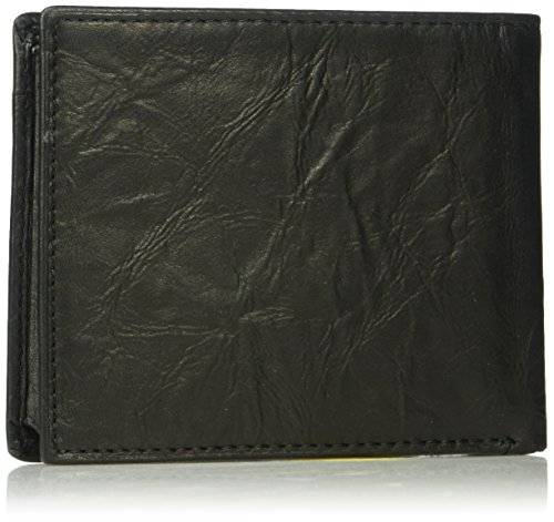 ID Neel Bifold ID Wallet Neel Men's Fossil Fossil Black Wallet Men's Fossil Flip Flip Black Bifold Men's FwqZZ7