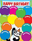 Scholastic TF2500 Panda Birthday Chart