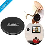 Premium Fixate Cell Pads by CloudValley [5 PACK], Sticky Anti-Slip GEL Pads - can Stick to Glass, Mirrors, Whiteboards, Metal, Kitchen Cabinets or Tile, Car GPS and many more