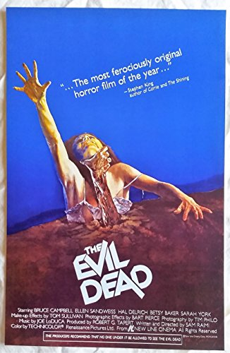 The Evil Dead Poster 11 x 17 -