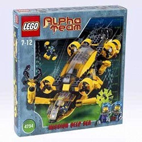 LEGO Alpha Team: Mission Deep Sea 4794 AT Command Patrol