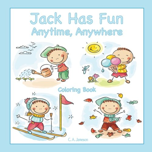 (Jack Has Fun Anytime, Anywhere Coloring Book)
