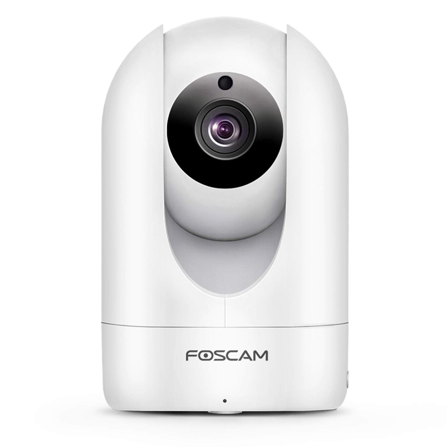 Foscam Full HD 1080P WiFi IP Camera, 2MP Indoor Pan/Tilt Home Security Surveillance Camera Night Vision, Two-Way Audio, Motion/Sound Detection, Free Image/Video Cloud Service Available, R2C White by Foscam