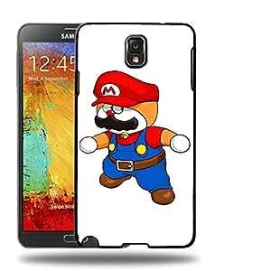 Case88 Designs Super Mario Doraemon Protective Snap-on Hard Back Case Cover for Samsung Galaxy Note 3