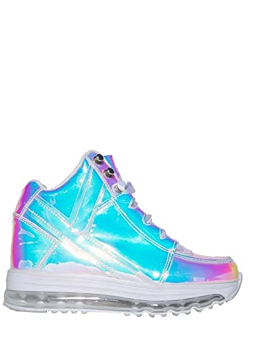 b707a05dc75402 Y.R.U.. Qozmo AIIRE Atlantis Light up Hologram Upper Womens Sneaker (US 8)