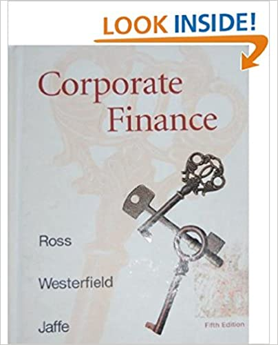 Amazon corporate finance irwinmcgraw hill series in finance amazon corporate finance irwinmcgraw hill series in finance insurance and real estate 9780256246407 stephen a ross randolph w westerfield fandeluxe Images