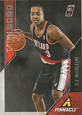 Amazon Com 2013 14 Panini Pinnacle Cj Mccollum Team