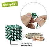 Speks Magnetic Balls - Classic Teal Set of 512