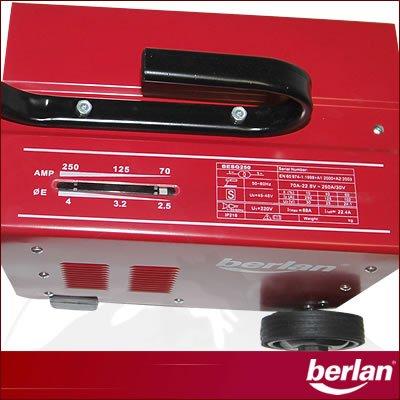 Berlan - aparato de soldadura eléctrica 90~250 A: Amazon.es: Industria, empresas y ciencia