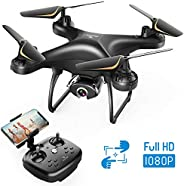 SNAPTAIN SP650 1080P Drone with Camera for Adults 1080P HD Live Video Camera Drone for Beginners w/Voice Contr