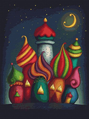 Fairy Tale Castles Cross Stitch Pattern