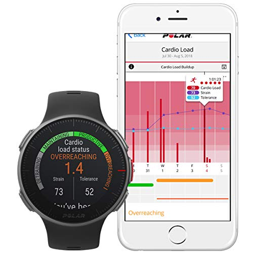 PlayBetter Polar Vantage V Pro (Black with H10 Heart Rate Sensor) Power Bundle Portable Charger & Screen Protectors | Multisport Watch | GPS & Barometer by PlayBetter (Image #4)