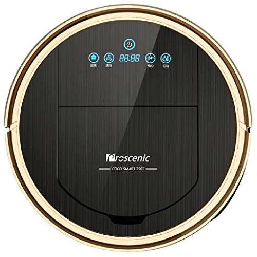 Vacuum Cleaner Cleaning Robot Sweeping Robot Wiping The Ground to Comprehensive Services Smart Home Integrated Mopping Machine Vacuums (Color : Black, Size : 35 cm|14 inch)