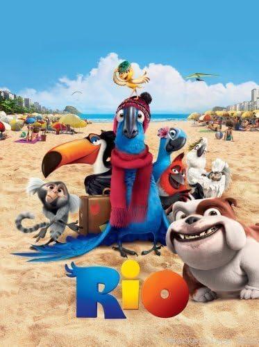 Rio Movie Poster 24x36