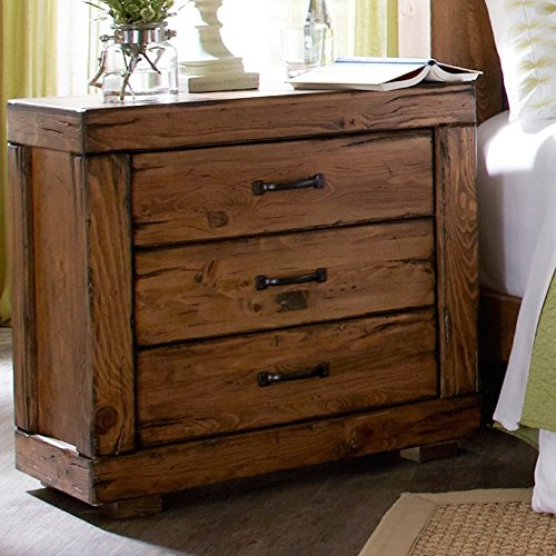 Progressive Furniture Maverick Nightstand, Driftwood -  P626-43