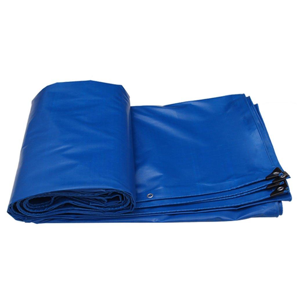 blueee 43M Awnings Tarpaulin Sunscreen Cloth Waterproof Cloth Poncho Canopy Outdoor Shade Cloth Tarpaulin Thickening Sunscreen Cloth Tarpaulin Truck Tarpaulin car Tarpaulin Canvas (color   Green, Size   5  4M)