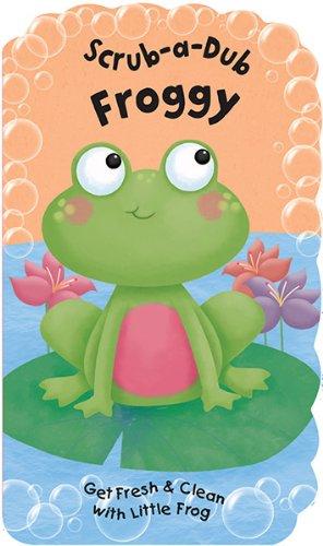 Scrub-A-Dub Froggy: Bath Mitt and Book Set (Scrub-a-Dub Bath Mitt and Book ()