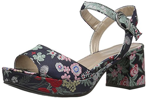 (CL by Chinese Laundry Women's Kensie Platform Dress Sandal, Navy Silk,  7.5 M US)