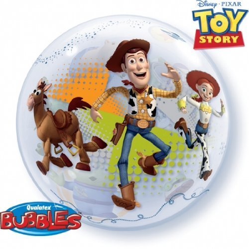 GLOW Party Fun Decor Toy Story 3 Bubble Balloon -
