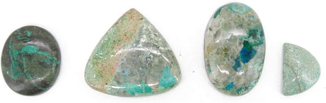Piedra Cabujón de Crisocola (Pack 30gr) Minerales y Cristales, Belleza Energética, Meditacion, Amuletos Espirituales