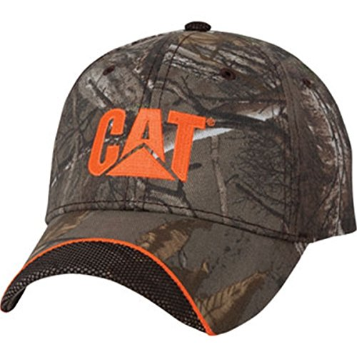 Cat Realtree Camo w/ Mesh Trim Hat